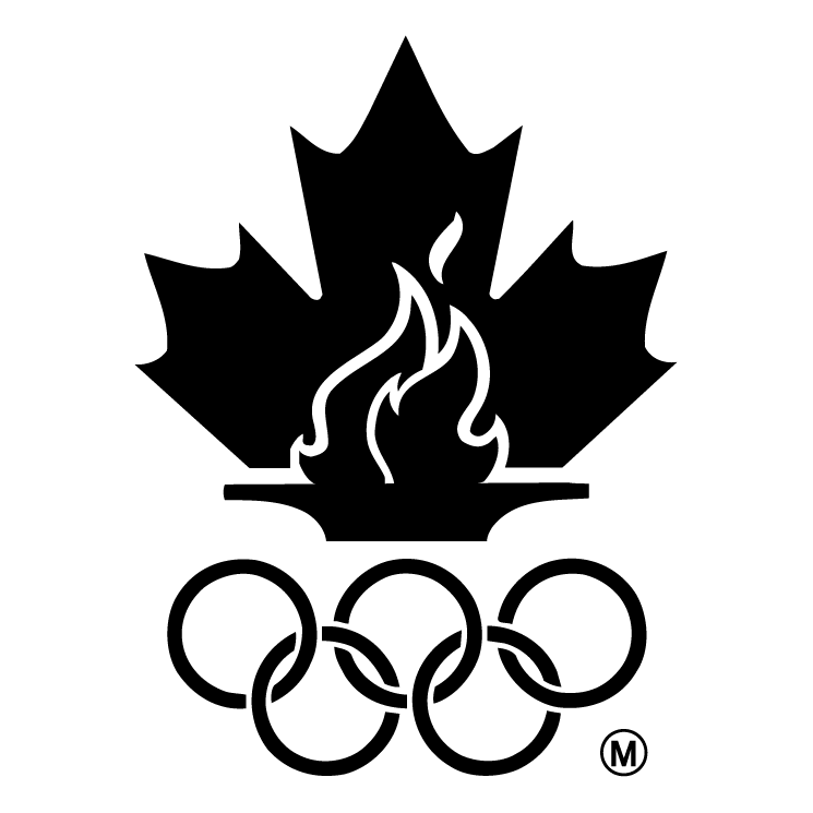 free vector Canadian olympic team