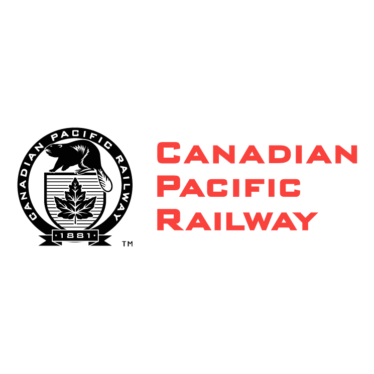 free vector Canadian pacific railway