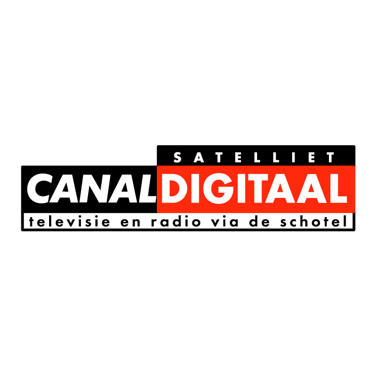 free vector Canal satelliet digitaal 0