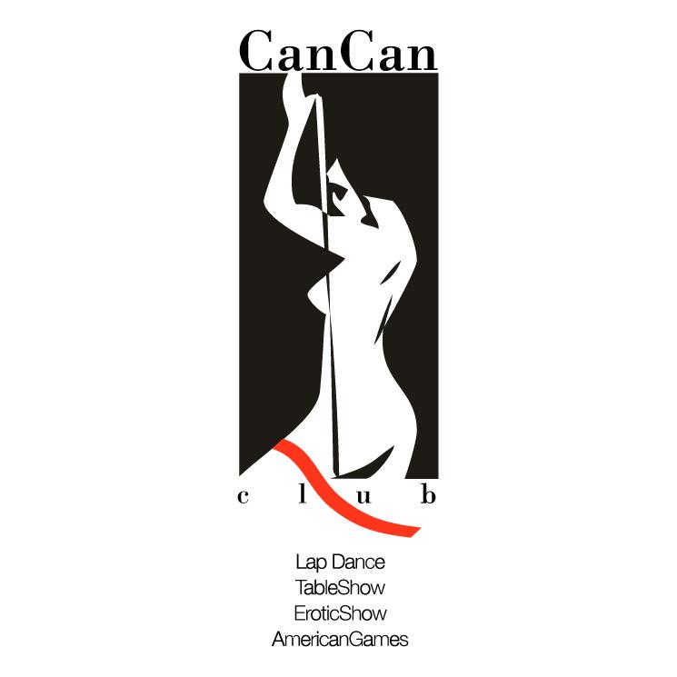 free vector Cancan club