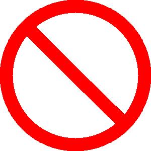 free vector Cancel clip art