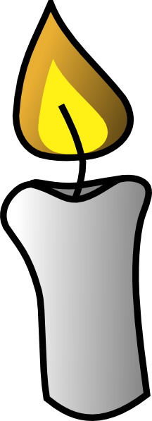 free vector Candle clip art