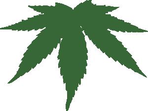 free vector Cannabis Leaf clip art