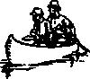 free vector Canoe Traveling clip art
