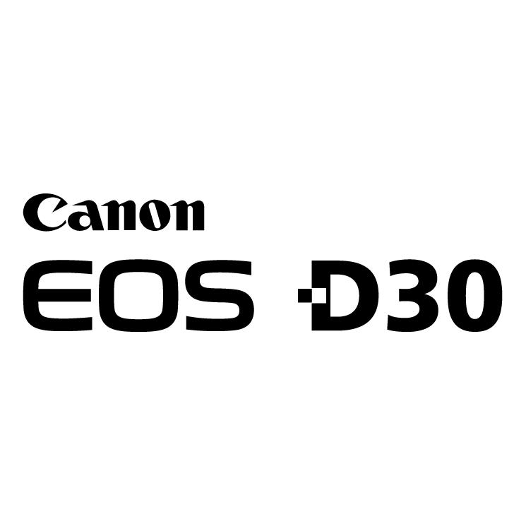free vector Canon eos d30