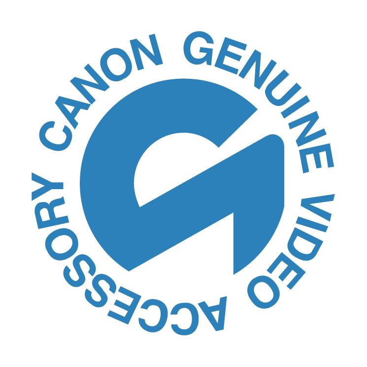 free vector Canon genuine video accessory