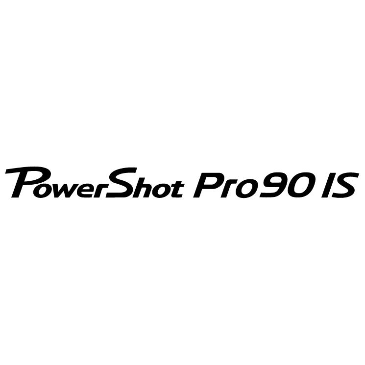 free vector Canon powershot pro90 is