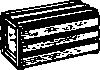 free vector Cantalope Crate clip art