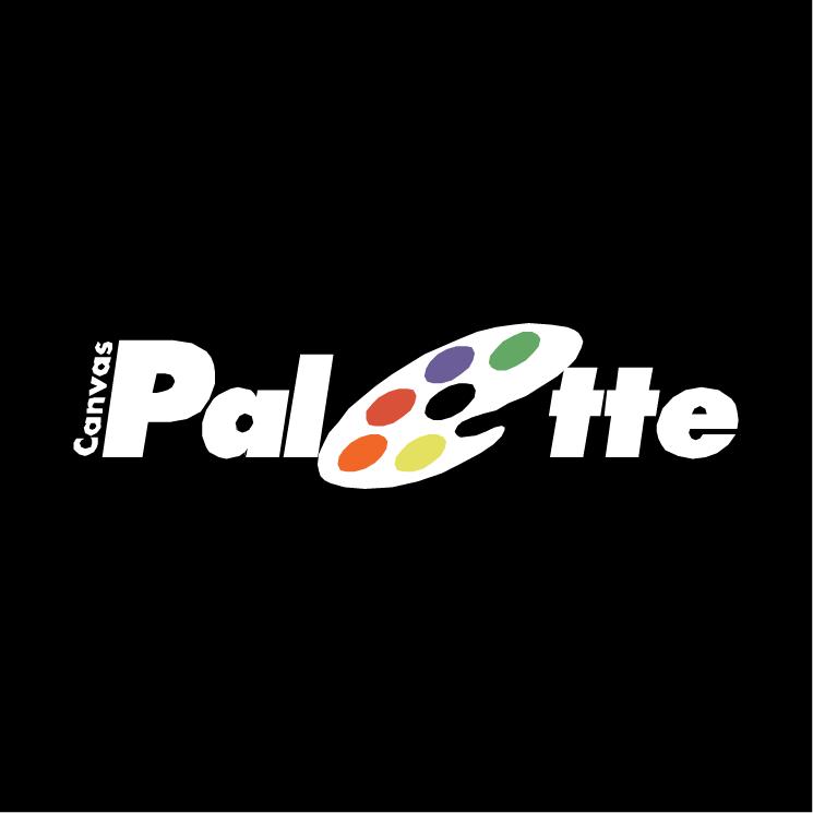free vector Canvas palette