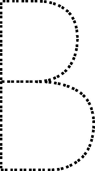 free vector Capital Letter B clip art