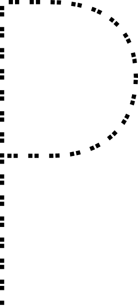 free vector Capital Letter P clip art