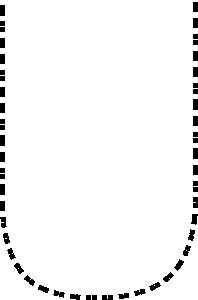 free vector Capital Letter U clip art
