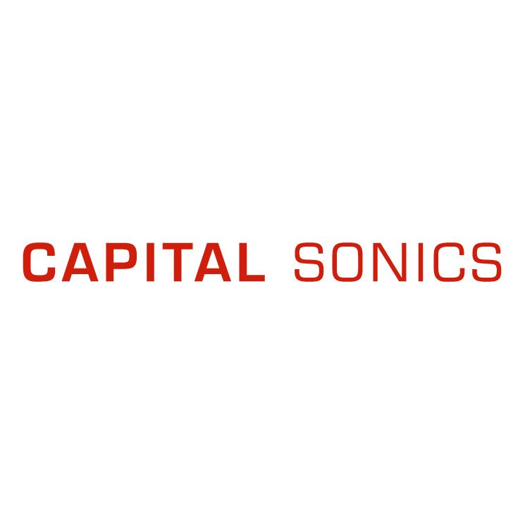 free vector Capital sonics