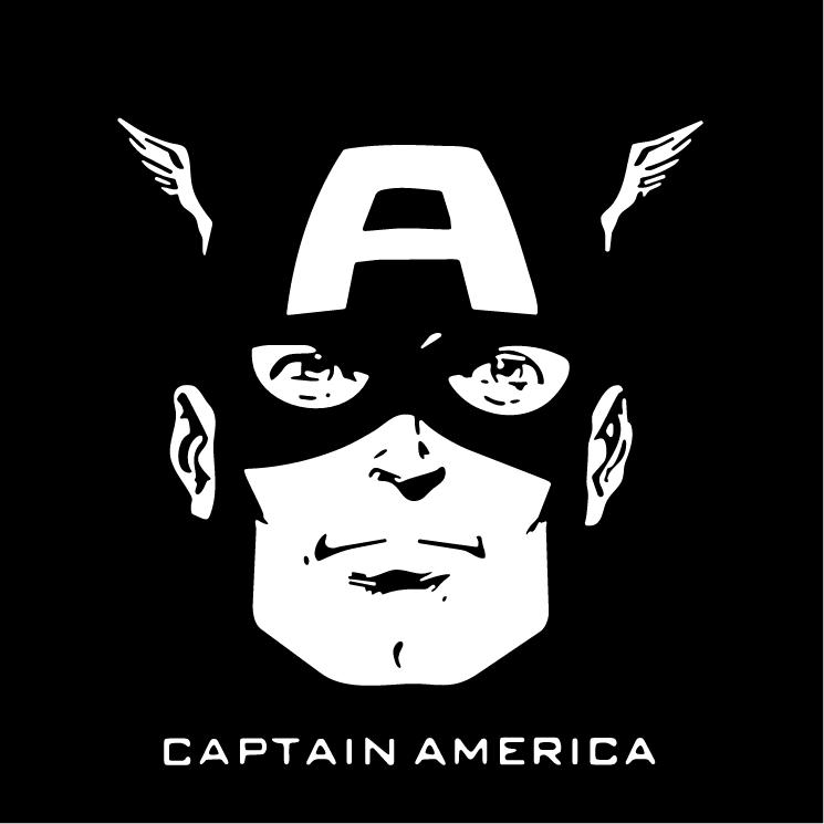 free vector Captain america
