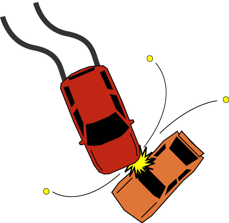 free vector Car Accident