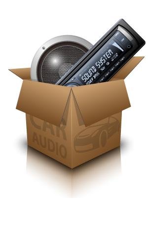 free vector Car audio vector 4