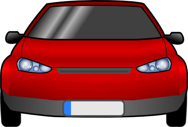 free vector Car Front clip art