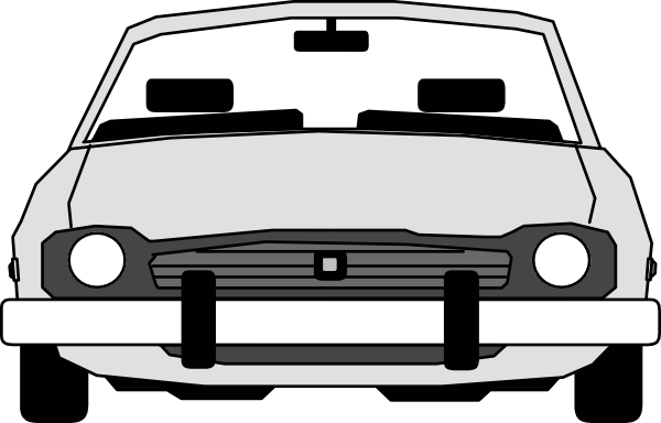 Car Front View Clip Art 109367 Free Svg Download 4 Vector