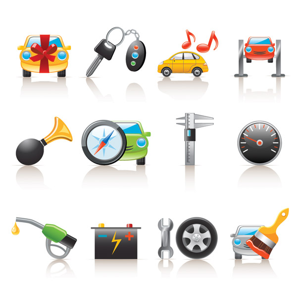 free vector Car icon vector