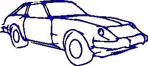 free vector Car Outline clip art