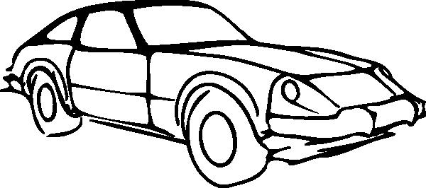free vector Car Outline Modified clip art