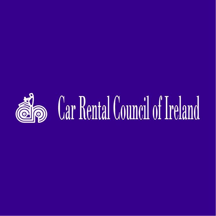 free vector Car rental council of ireland