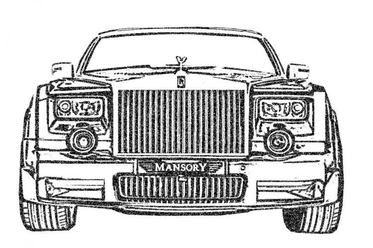 free vector Car Vector RR Mansory