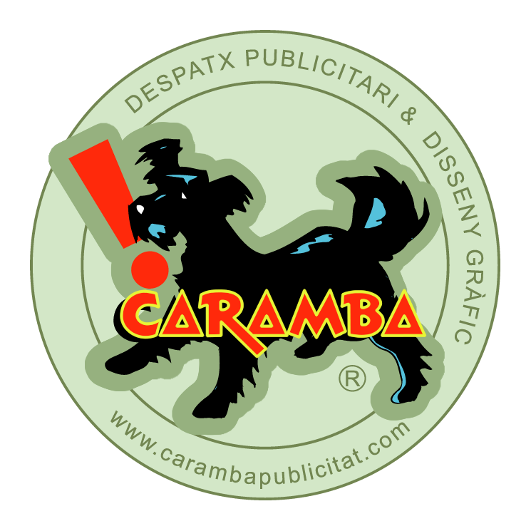 free vector Caramba publicitat