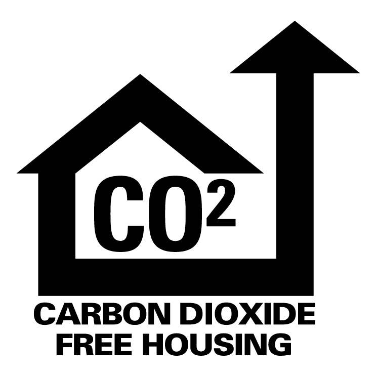 free vector Carbon dioxide free housing