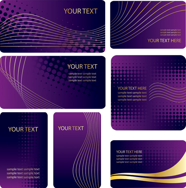 Free Vector Card Background