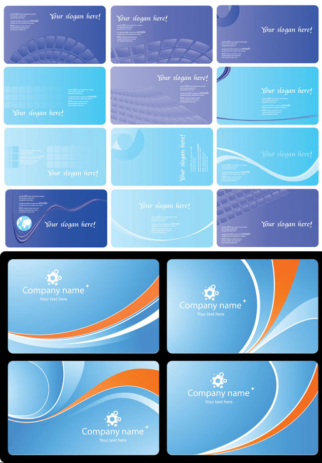 free vector Card background vector