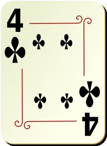 free vector Card clip art 105301