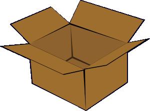 free vector Cardboard Box clip art
