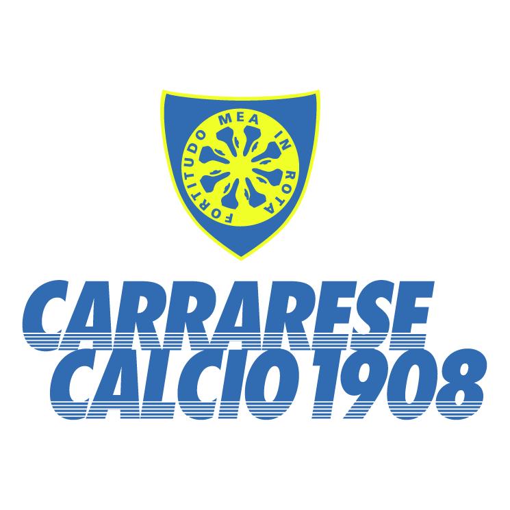 free vector Carrarese calcio 1908
