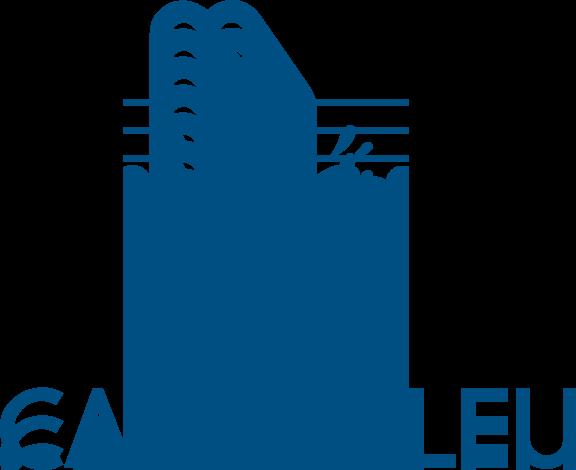 Carre bleu logo free vector 4vector for Carre bleu
