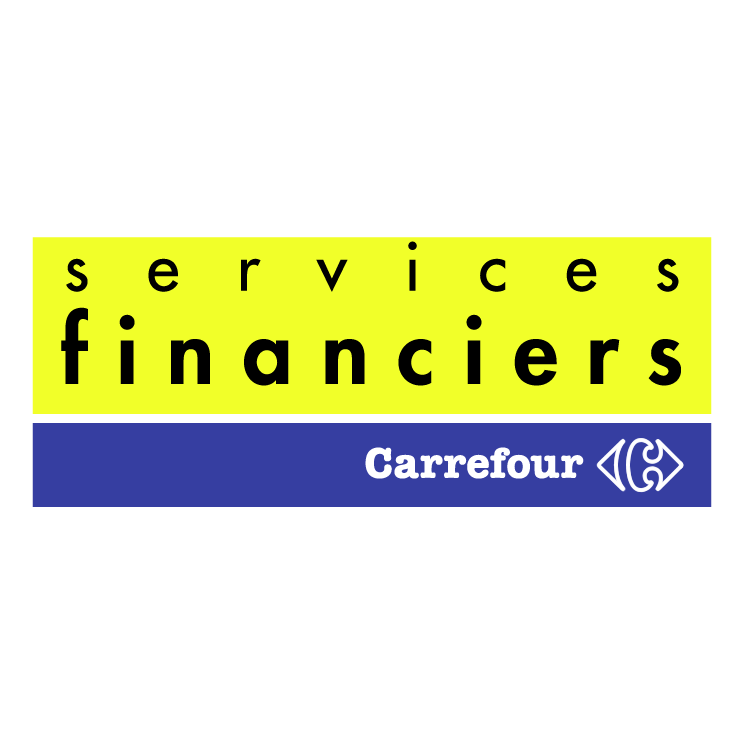 free vector Carrefour services financiers