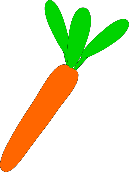 free vector Carrot Cartoon clip art
