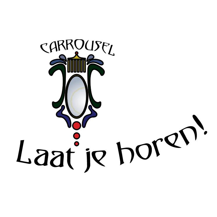 free vector Carrousel feest cafe
