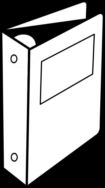 free vector Cartable à anneaux / Binder