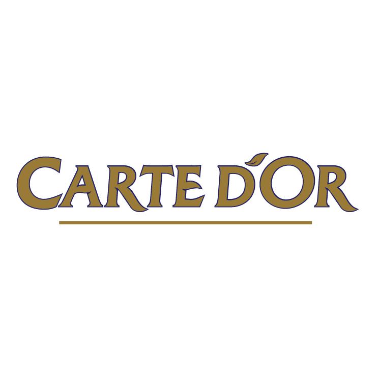 free vector Carte dor