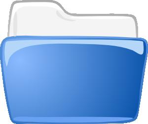 free vector Cartella Dossier Directory clip art