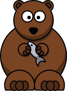 free vector Cartoon Bear clip art