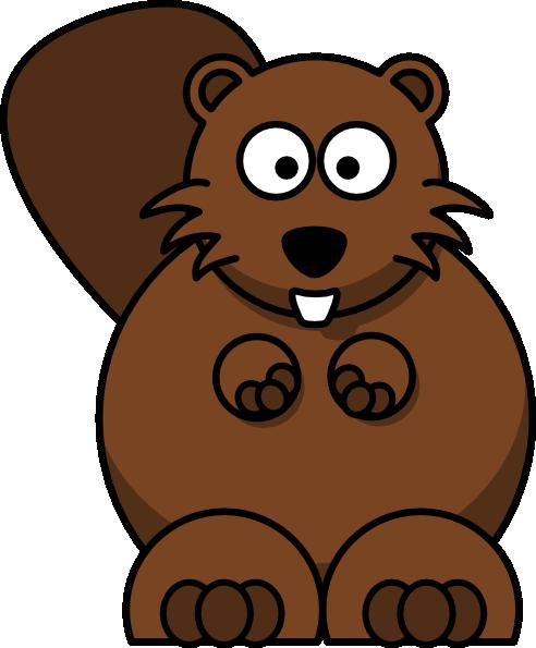 Clip Art Beaver Clip Art cartoon beaver clip art free vector 4vector art