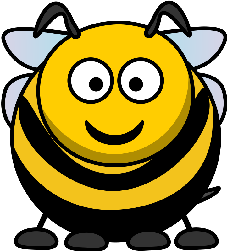 free vector Cartoon Bee