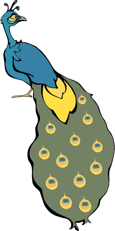 free vector Cartoon bird 14