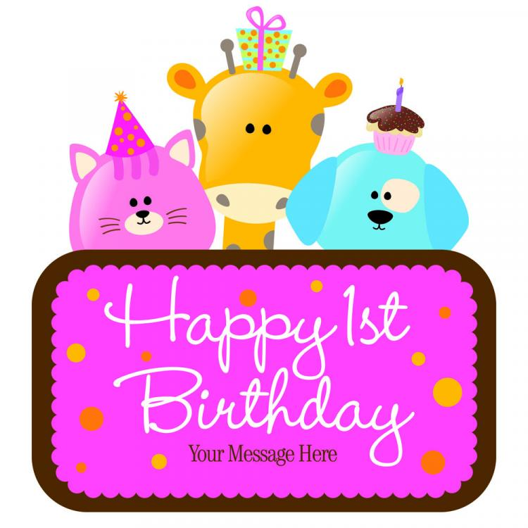 free vector Cartoon birthday cards 02 vector
