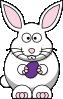 free vector Cartoon Bunny clip art