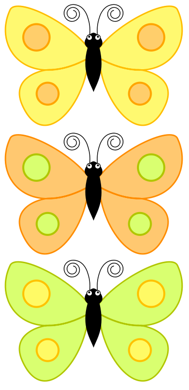 free vector Cartoon_butterfly_dw3