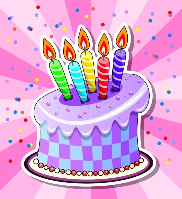 Cartoon Pics Of Birthday Cakes : Cartoon cake 05 vector Free Vector / 4Vector