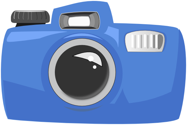 free vector Cartoon Camera clip art